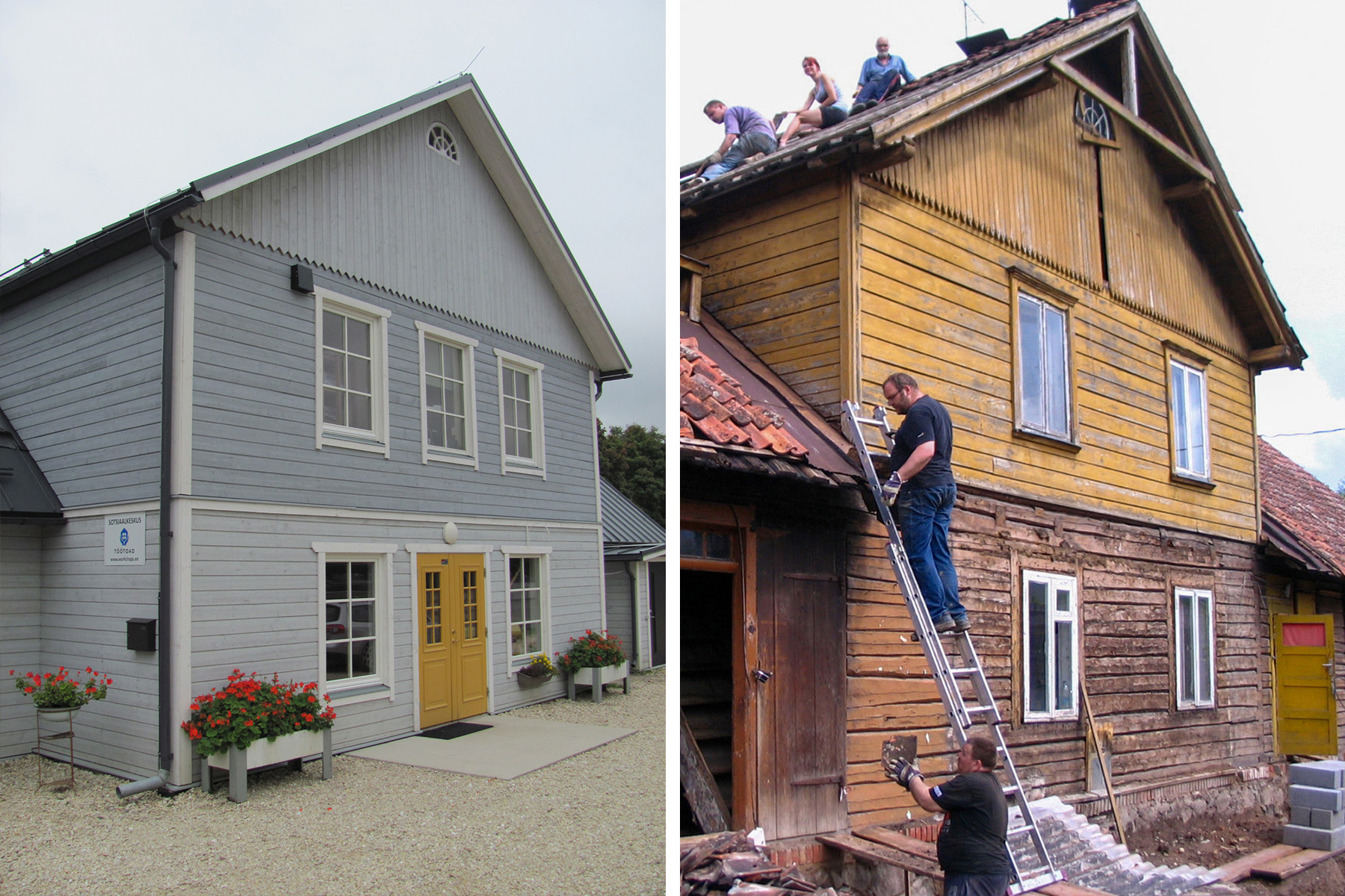 Uus tn 14 hoone renoveerimine